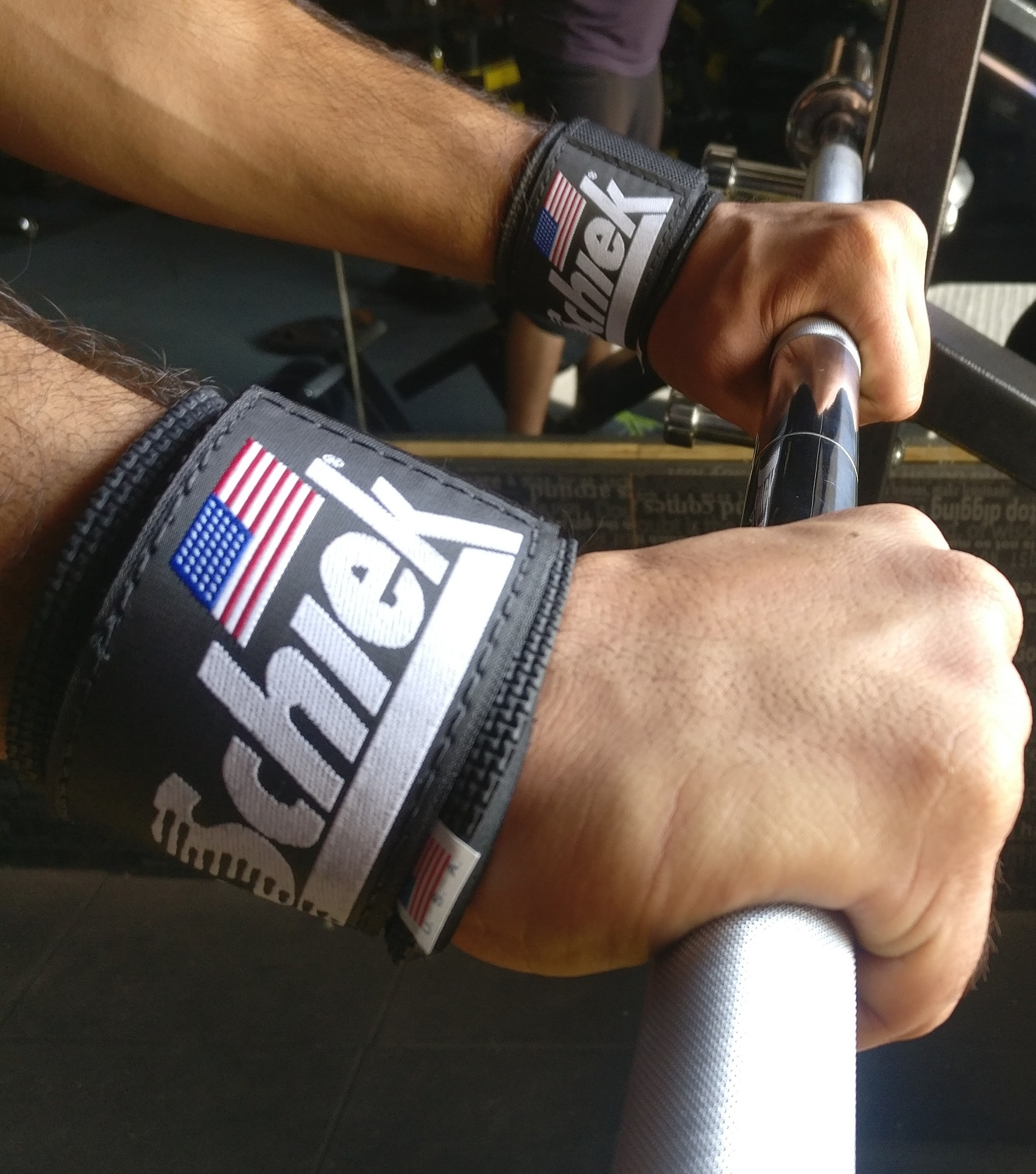 Schiek wrist wrap review